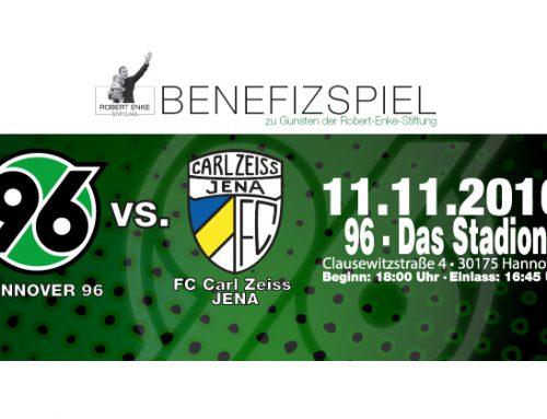 Hannover 96 spielt zugunsten der Robert-Enke-Stiftung