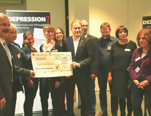 Im Bündnis mit dem Bündnis: Robert-Enke-Stiftung unterstützt die Neugründung von Bündnissen gegen Depression