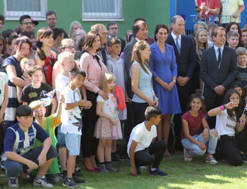 Teresas Blog: Treffen mit Prinz William und Herzogin Kate
