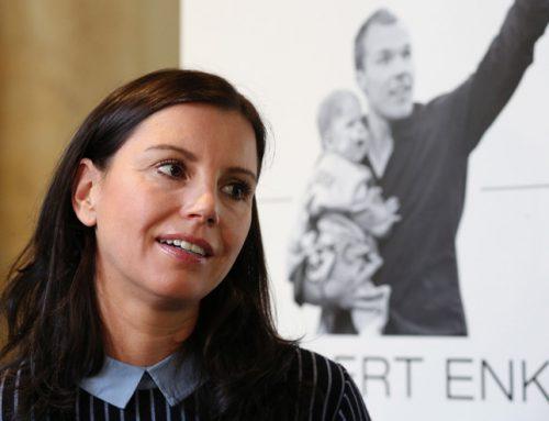 Vorstandsvorsitzende Teresa Enke trifft Prinz William und Herzogin Kate