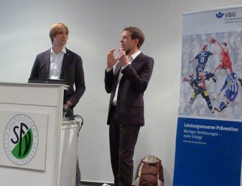 """Festvortrag beim """"Präventionssymposium Fußball"""" der VBG"""