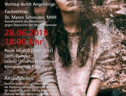 Informationsabend über Depressionen an der Leibniz Universität Hannover