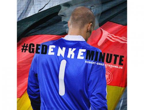 #gedENKEminute von der Bundesliga bis zur Kreisliga